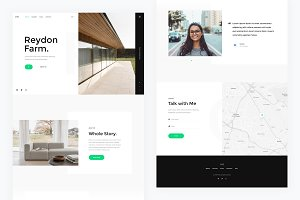 Photy — Landing Page PSD Template