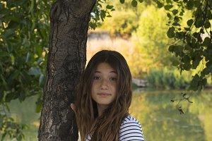 Teenage in nature