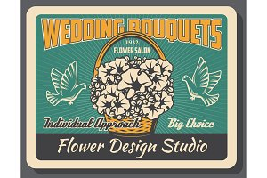 Flower design studio, wedding