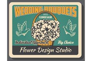 Flower design studio, wedding