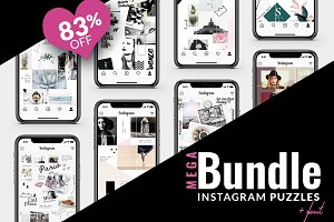 83% OFF | BUNDLE -Instagram Puzzle