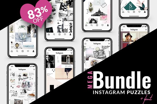 83% OFF | BUNDLE -Instagram Puzzle
