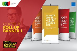 Quote It - Roll-Up Banner 1