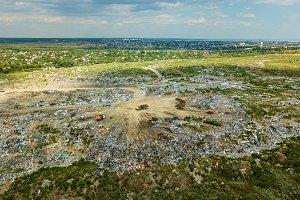 the city dump