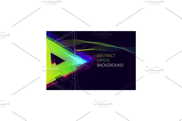 Abstract Hipsta Vector Background. in Illustrations - product preview 2