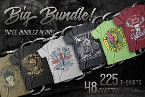 Mega T-shirts Bundle