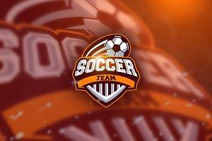 Soccerball - Mascot & Esport Logo