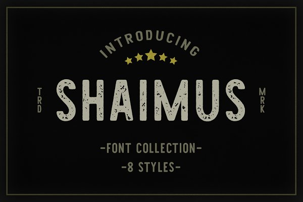 Display Fonts: Larin Type Co. - Shaimus