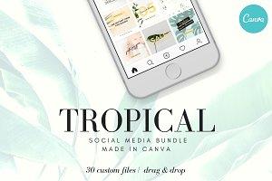 Tropical Social Media Bundle