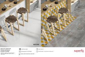 Floor Mockup Commercial Scene SM43