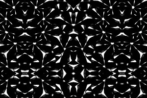 Dark Intricate Geometric Seamless Pa