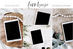 Farmhouse iPad Mock Ups