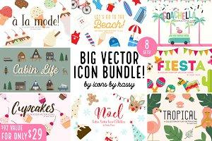 Big Icon Bundle! Over 300 icons!
