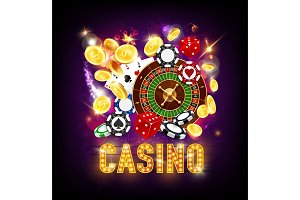 Online casino, roulette and dice