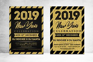 NEW YEAR FLYER 2019 - 2 Style