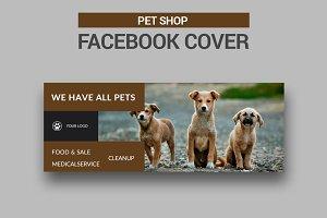 Pet Shop Facebook Cover - SK
