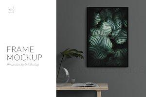 Frame Mockup, 8x12 - Styled Scene