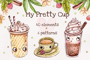 My Pretty Cup set +bonus: 6 patterns