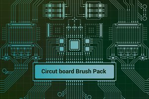 Circuit Board Brush Pack