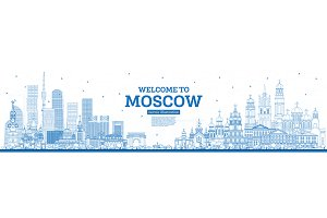 Outline Welcome to Moscow Russia
