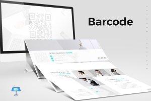 Barcode - Keynote Template