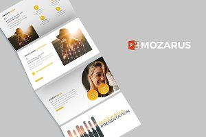 Mozarus - Powerpoint Template