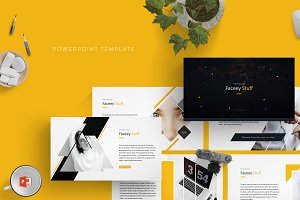 Faceey - Powerpoint Template