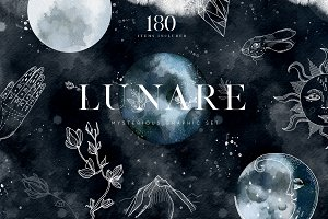 Lunare. Mysterious Graphic Set