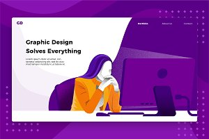 Graphic Design- Banner &Landing Page