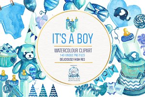 Baby Shower - Boys PNG Clipart
