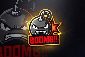 BOOMB - Mascot & Esport Logo