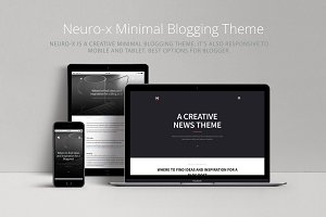 Neuro-x | Premium Minimalist Blog