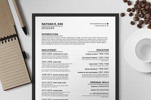 Resume/CV Template I