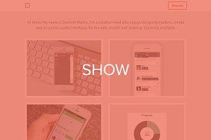 Show - Portfolio Theme HTML/CSS