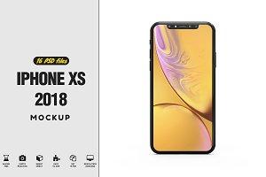 iPhone XS Mockup 2018