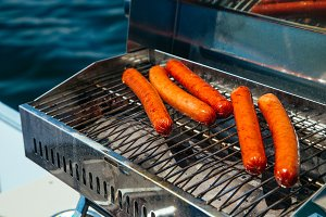 Hot Dogs on the Lake