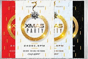 XMAS Party / Christmas Party Flyer