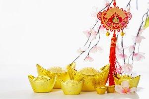 Chinese New Year background 2019