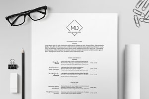 Resume/CV Template II
