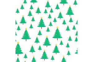 Christmas Tree with Ball and Star