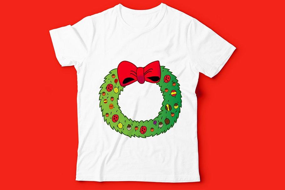 Kids T Shirt Christmas Design Art