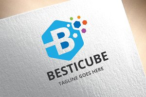 Letter B - Besticube Logo