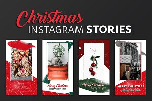 Christmas Instagram Story Templates