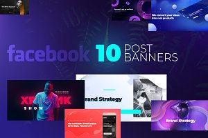 Facebook Post Banners v3