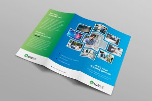 Corporate Business Tri-Fold Brochure