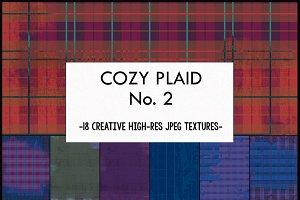 Cozy Plaid:  Grungy Art Textures