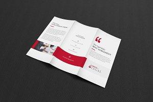 Law Attorney Tri-Fold Brochure