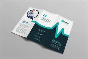 Medical Healthcare Tri-Fold Brochure