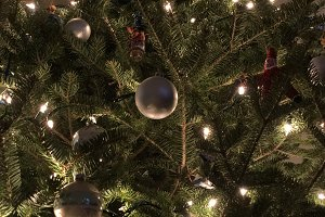 Ornaments and Tree