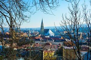 Cluj city view